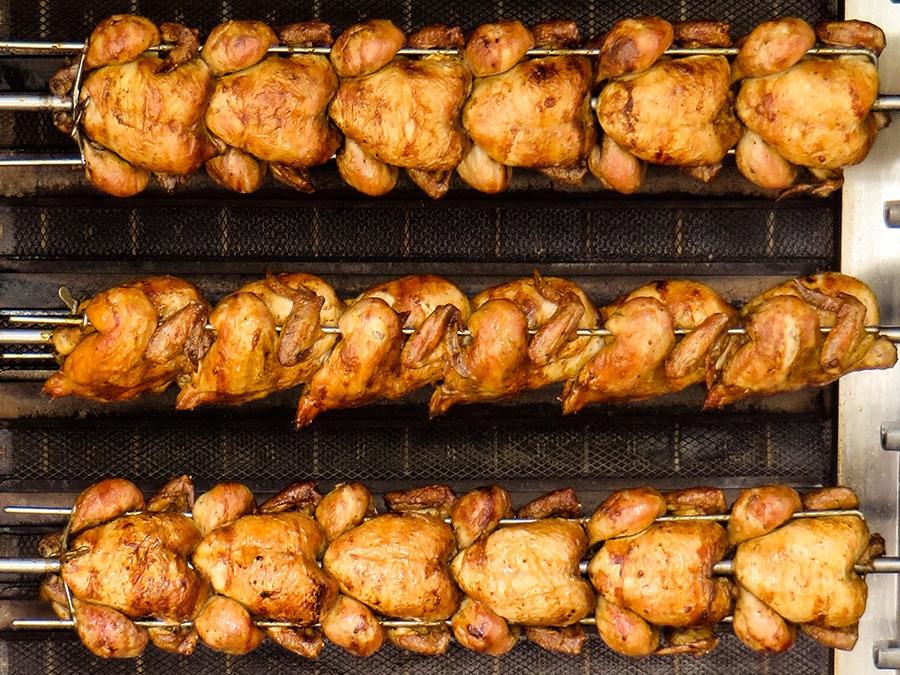 Maquinaria para hostelería y asadores de pollos